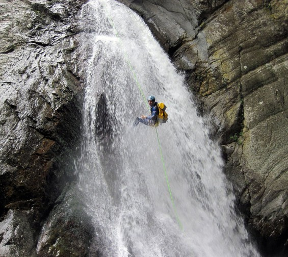 Canyoning Llech ©Flickr
