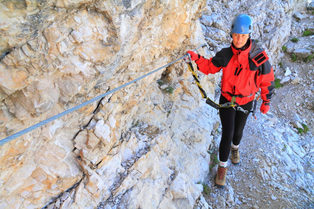 Via Ferrata guide aussois