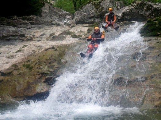 canyon de l'ecouge- canyoning grenoble