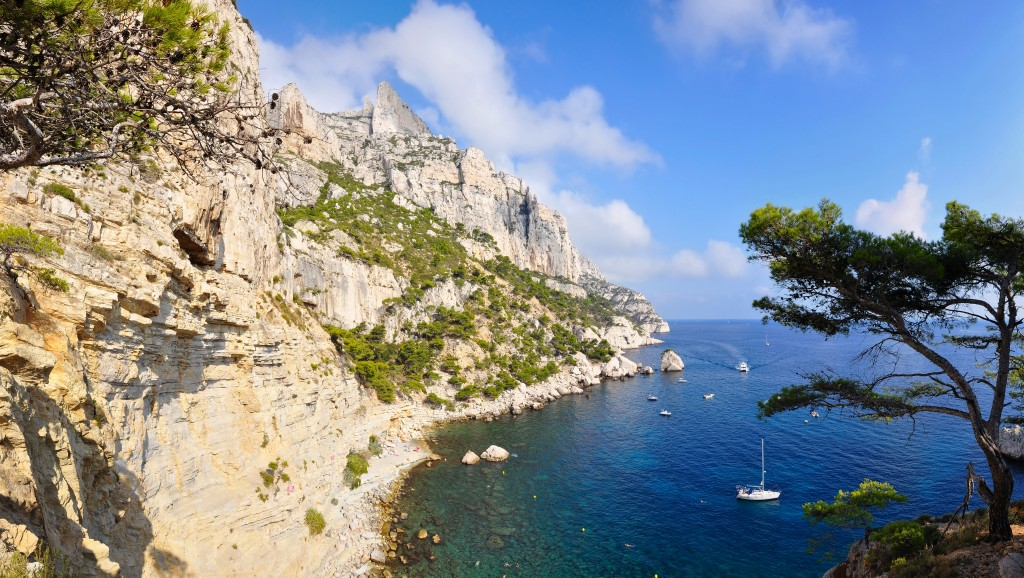 Les Calanques, paradis de la voile © Creative Commons
