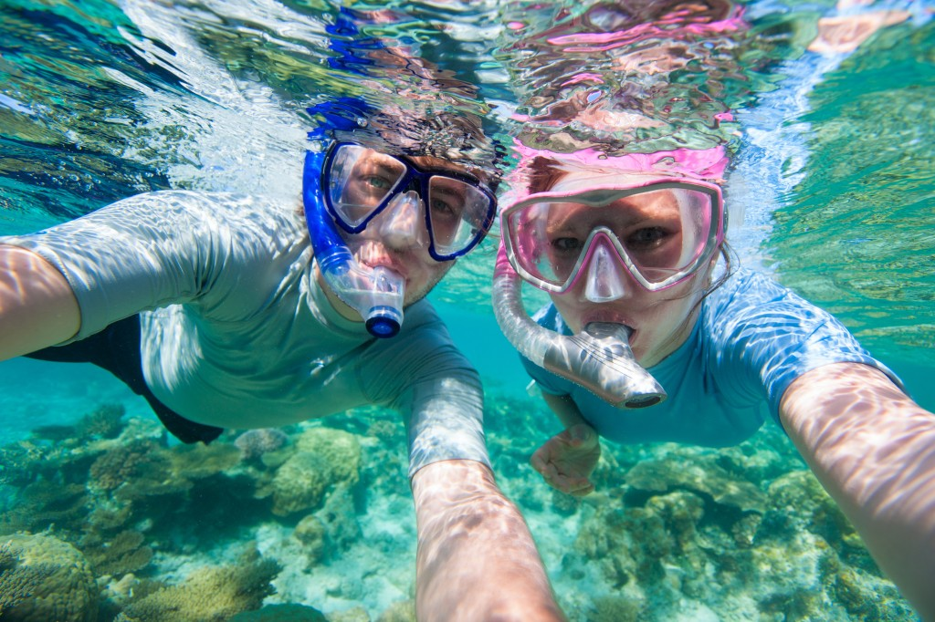 Session snorkeling
