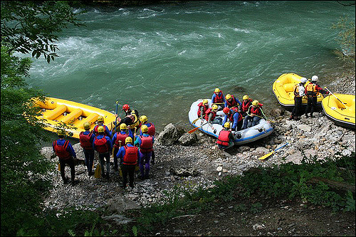 Rafting sur la Dranse ©Flickr